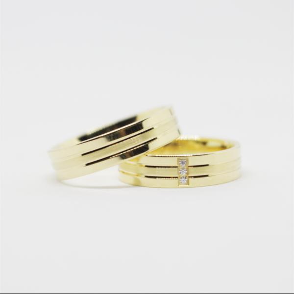 Aliança Casamento 5mm