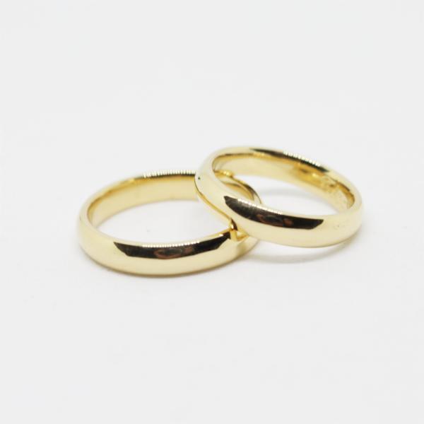 Aliança Casamento 4mm